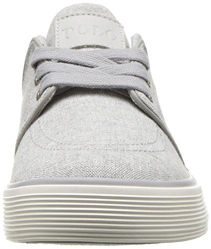 Men's Low Sneaker Grey Lauren Ralph 3 Polo Faxon qpSWT