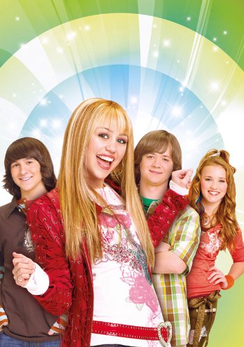 Hannah Montana Poster G 27x40 Miley Cyrus Billy Ray Cyrus Emily Osment