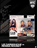 RONDA ROUSEY VS LIZ CARMOUCHE ROUND 5 UFC (WALKOUTWEAR) EXCLUSIVE 2 PACK FIGURE