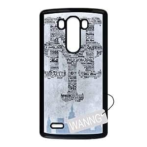 New York Mets LG G3 Hard Back Case, New York Mets Custom Case for LG G3 at WANNG
