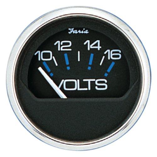 Faria 13705 Voltmeter-Chesapeake Black by Faria