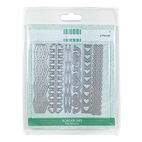 Trimcraft FEDIE056 Decorative Borders First Edition Dies (6 Pack)