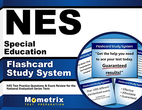 NES Special Education Flashcard Study System: NES Test Practice Questions & Exam Review for the National Evaluation Series Tests (Cards)