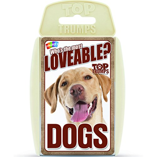 Lovable Dogs Top Trumps Card Game | Educational Card Games
