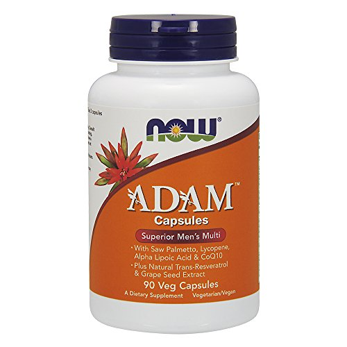 NOW  Adam Superior Men's Multi,90 Veg Capsules