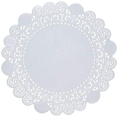 6 inch Variety Pack 150 pc. Paper Lace Doilies - Cambridge Royal French - 50 of Each by The Baker Celebrations (Image #2)
