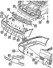 Chrysler, Fascia PIN, 4806334AA
