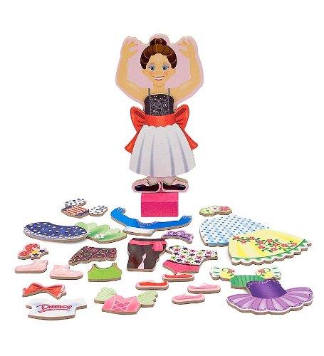 Magnetic Dress-Up Set, Princess Elise