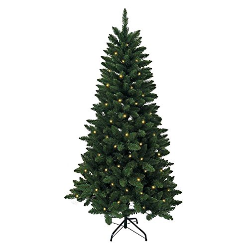 Un-lit Trees - Kurt Adler 6-Foot Pre-Lit Green Pine Tree