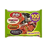 HERSHEY'S All Time Greats Snack Size Chocolate Candy Assortment, 36.2 Ounce