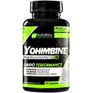 NutraKey Yohimbine HCl Capsules, 90 Count