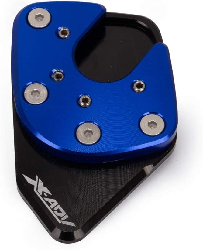 elegantstunning Professionale Accessori Moto cavalletto Sidestand Supporto prolunga Enlarger Pad per Honda x-ADV