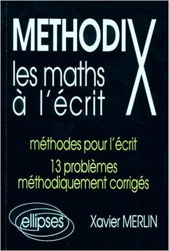 GRATUIT ALGEBRE TÉLÉCHARGER METHODIX PDF