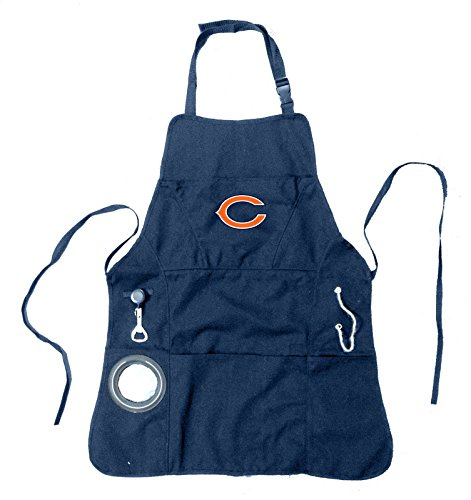 Team Sports America Ultimate NFL Tailgate Grilling Apron, Chicago Bears