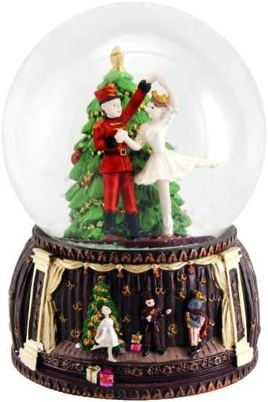 Nutcracker Snowglobe Christmas Decoration