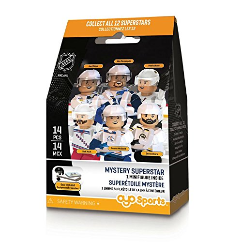 OYO Sports NHL NHL top 12 Stars Sports Fan Bobble Head Toy Figures, Mixed, One Size