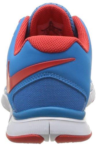 Scarpe Da Cross Training Nike Free Trainer 3.0 Uomo Taglia 10.5, Larghezza Regolare, Colore Blu Chiaro / Rosso / Bianco