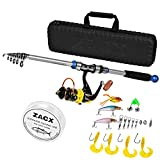 Best Compact Fishing Rod And Reels - ZACX Telescopic Fishing Rod and Reel Combos Full Review