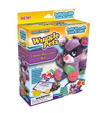 As Seen On TV Wuggle Pets Clever Raccoon - Clever Raccoons