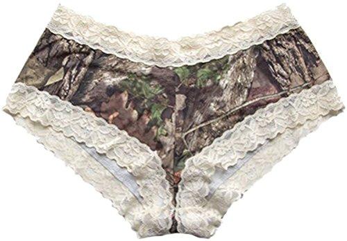 (Wilderness Dreams Lace Trimmed Boy Short Pantie (2X-Large))