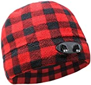 POWERCAP LED Beanie Cap 35/55 Ultra-Bright Hands Free LED Lighted Battery Powered Headlamp Hat