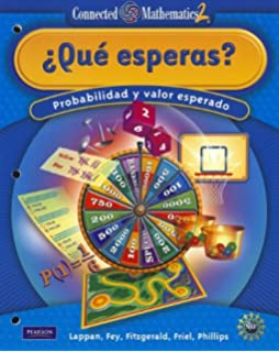 CONNECTED MATHEMATICS SPANISH GRADE 7 STUDENT EDITION WHAT DO YOU EXPECT