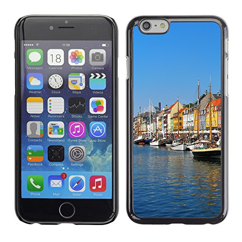 "Premio Sottile Slim Cassa Custodia Case Cover Shell // V00002825 Copenhague Nyhavn // Apple iPhone 6 6S 6G PLUS 5.5"""