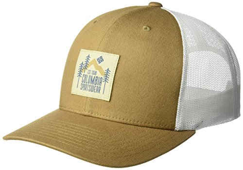 Columbia Men's Mesh Snap Back Hat, Delta Evergreen Patch, O/S