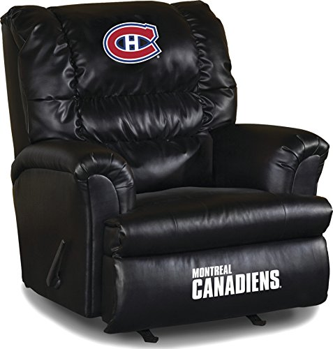 Montreal Canadiens Recliner Canadiens Leather Recliner