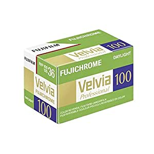 Fujifilm Fujichrome Velvia 100 Color Slide Film ISO 100, 35mm, 36 Exposures