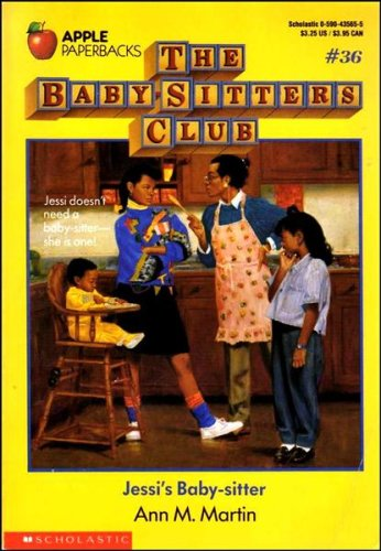 jessis baby sitter baby sitters club 36 ann m martin 9780590435659 amazoncom books