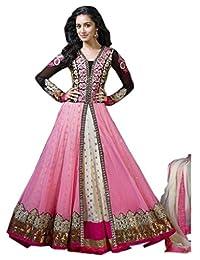 Mahavirfashion Women's Anarkali Salwar Kameez Designer Indian Dress Ethnic Party