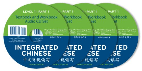 Integrated Chinese: Level 1, Part 1, set of four  CDs (English and Chinese Edition)