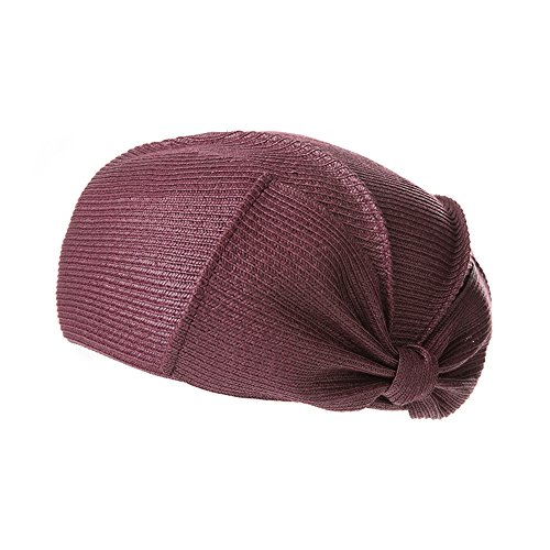 Straw Ljha E Colores 5 Verano Maozi Cap Femenina Elegante Hat Bow Travel Gyh Beret B Opcional Wild color Simple 8Sw5qc