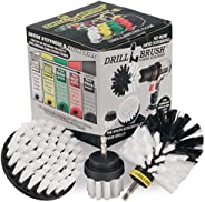 3 Piece Drill Brush Cleaning Tool Attachment Kit for Scrubbing/Cleaning Tile, Grout, Shower, Bathtub, and All