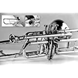 3-Valve Bb Tenor Trombone for Trumpet Crossover Players. Original Brass Finish, with Hardcase & Mouthpiece