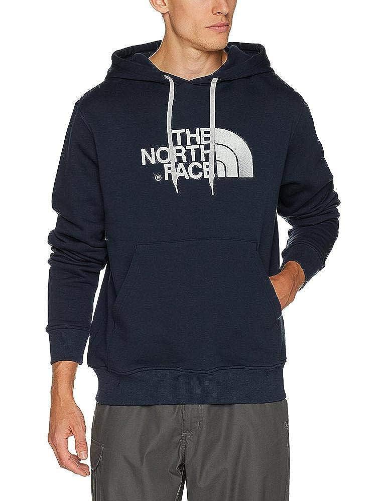Bleu (Urbnvy Highrsgy) L The North Face Drew Peak Sweat-Shirt à Capuche Homme