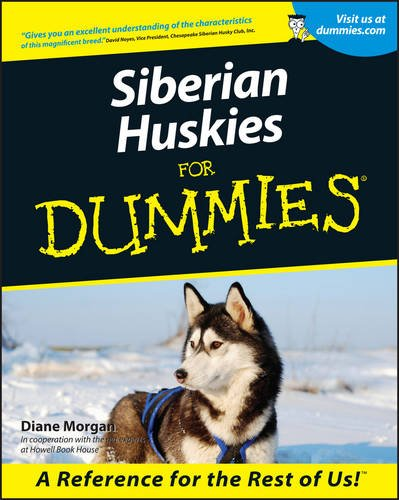Siberian Huskies For Dummies (Morgan Vase)