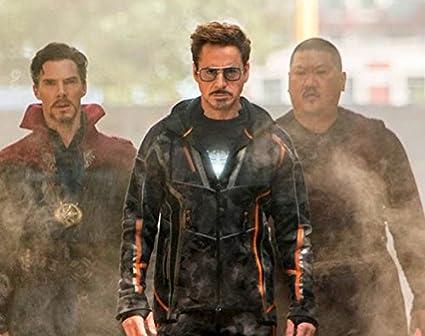 ab404eda9ab4f Amazon.com  2018 Fashion Avengers Tony Stark Flight 6 Style Sunglasses Men  Square Aviation Brand Design Sun Glasses Oculos De Sol BLACK COLOR   Everything ...