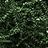Forest Green Crinkle Cut Paper Shred 10 lbs/Case