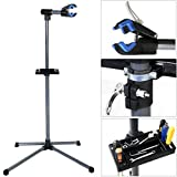 Pro Bike Repair Stand Adjustable 39'' To 60'' w/ Telescopic Arm Cycle Bicycle Rack