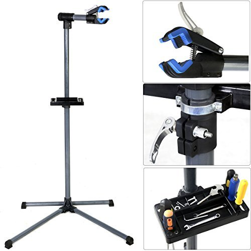 Pro Bike Repair Stand Adjustable 39'' To 60'' w/ Telescopic Arm Cycle Bicycle Rack by Bicycles