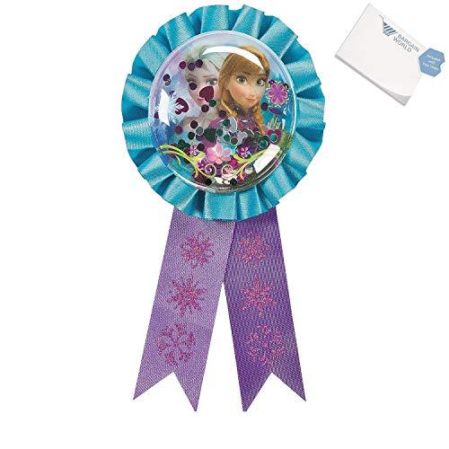 Bargain World Nylon 's Frozen Award Ribbon (With Sticky Notes)