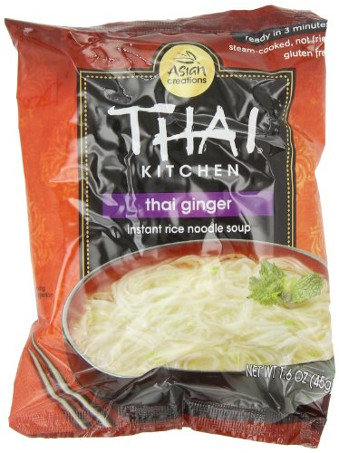 (Thai Kitchen Thai Ginger & Veg Instant Noodle, 1.6000-Ounce (Pack of 12))