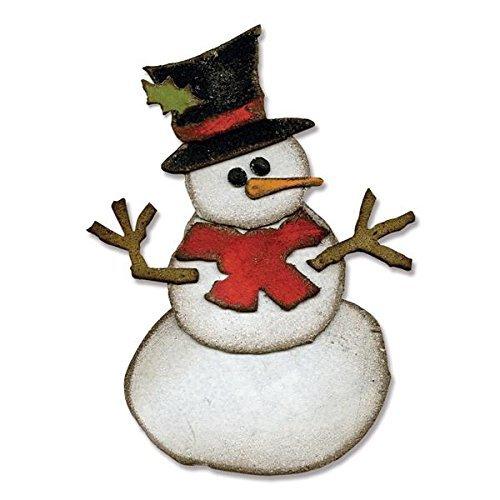 Sizzix Bigz Die by Tim Holtz, 5.5 by 6-Inch, Assembly Snowman