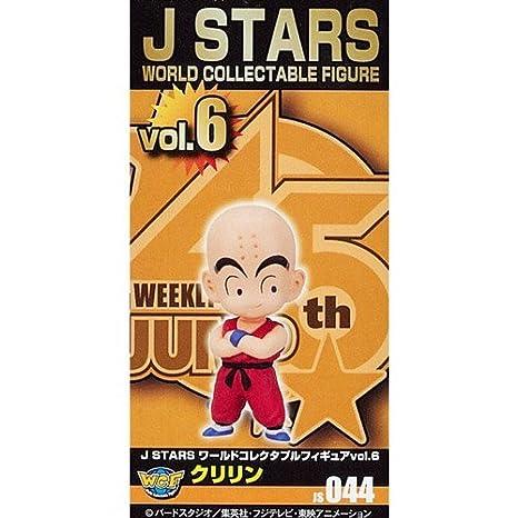 J STARS Mundial cobrable Figura vol.6 Krilin solo art?culo (Jap?n ...