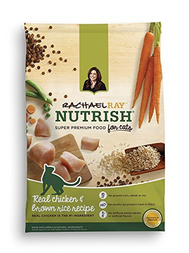 Rachael Ray Nutrish Natural Dry Cat Food, Chicken & Brown Rice Recipe, 3 lbs (Pack of 2)