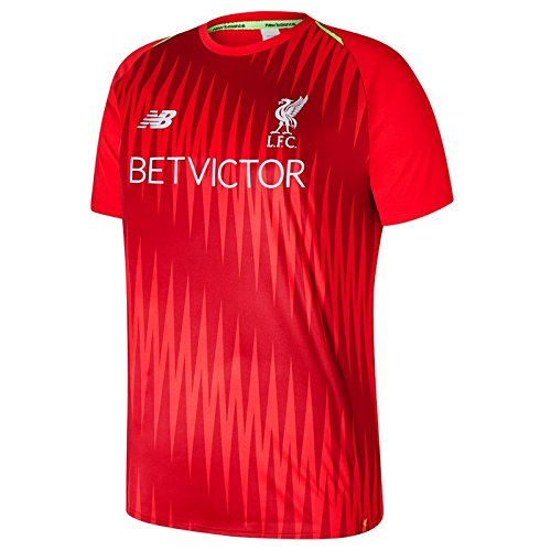 (New Balance 2018-2019 Liverpool Elite Pre-Match Training Shirt (Red))
