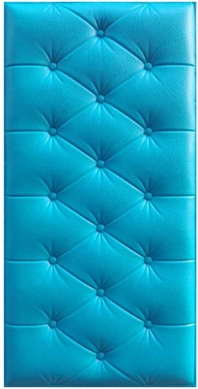Hankyky 3D Wandaufkleber selbstklebend Verdicken Tatami Antikollisions Wandmatte Wandschutz Schutzma/ßnahmen f/ür das Pflegezimmer