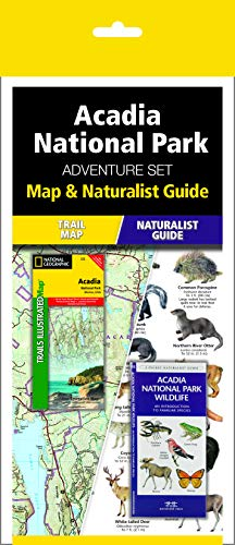 Wildlife Combo - Acadia National Park Adventure Set: Trail Map & Wildlife Guide